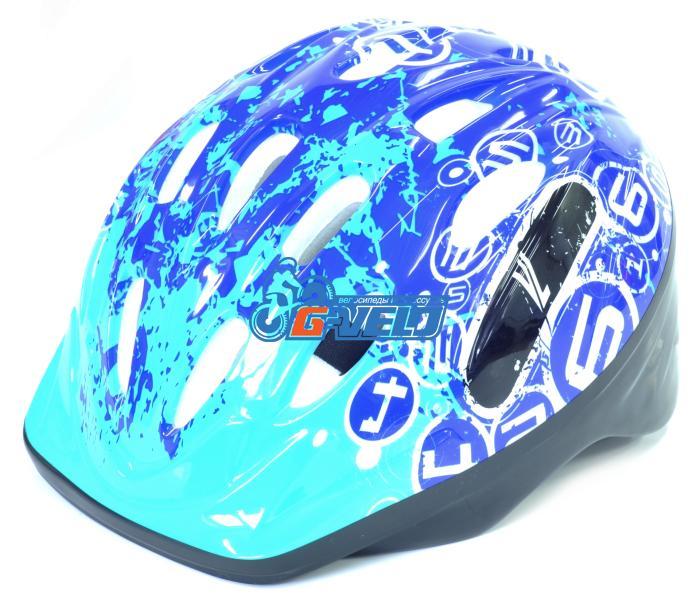 Велошлем детский с регулировкой размера. Цвет синий, BJL-012-BL