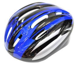 Велошлем ZHUHAI DEMEN DM-V10 MTB, 10 отверстий, синий/красный