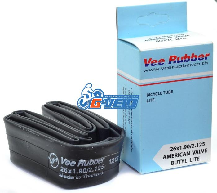 Камера 26 VEE Rubber PREMIUM LITE 26*1,90/2,125 FV велонипель, вес 142гр