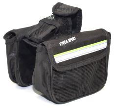 Vinca Sport, Двойная сумка на раму с карманом для моб.тел. (размеры 170*125*50мм), FB-03