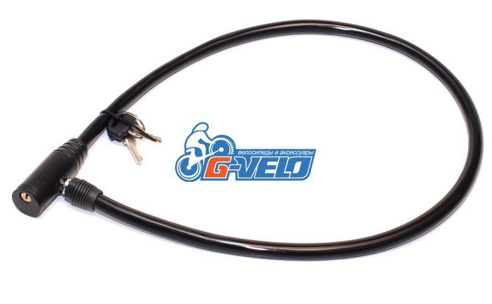Велозамок GoldenKey 103.101 12*800мм ключ