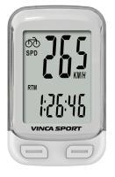 Vinca Sport, Компьютер проводной, 12 функций, белый, инд.уп. V-3500 white
