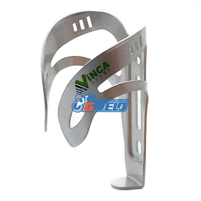 Vinca sport, Флягодержатель алюминиевый серебристый, НС 12 silver