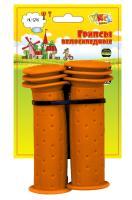 Vinca Sport, Грипсы детские, 102мм, оранжевые, H-G 96 orange