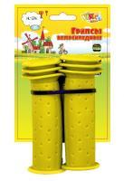 Vinca Sport, Грипсы детские, 102мм, желтые, H-G 96 yellow