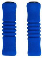 Vinca Sport, Грипсы пенополиуретановые, 125мм, голубые, H-G 22 blue