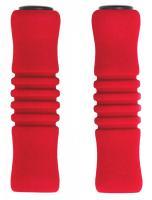 Vinca Sport, Грипсы пенополиуретановые, 125мм, красные, H-G 22 red