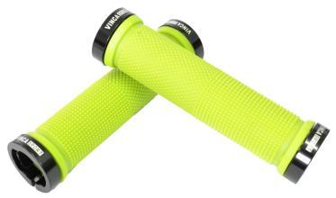 Vinca Sport, Грипсы с метал. зажимами, длина 129мм, зеленые, зажим чёрный H-G119 green/black