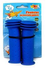 Грипсы детские, Vinca Sport, 102мм, синие, H-G 96 planes