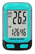 Vinca Sport, Компьютер проводной, 12 функций, синий, инд.уп. V-3500 blue