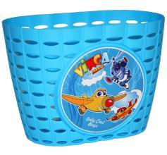 Vinca Sport, Корзинка детская на руль 12-16, цвет синий, 220x140x130мм, P 06 Planes