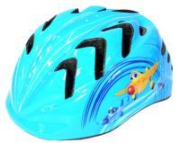"""Vinca Sport, Шлем детский с регулировкой, синий, рисунок - """"вертолетики"""" VSH 7 planes"""