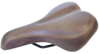 Седло комфортное Vinca Sport, Vintage, 258x190мм, VS 8291 Royal Man (brown), коричневый
