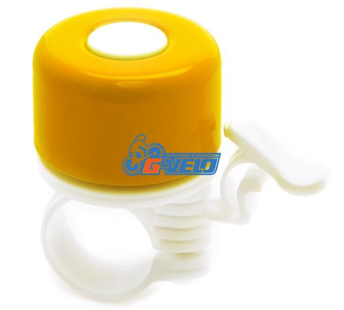 Vinca Sport, Звонок велосипедный цвет: желтый, YL 011-1 yellow