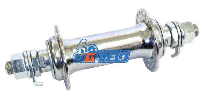Втулка передняя SHUNFENG SF-HB03F, 36 спиц, сталь, гайки, 135мм