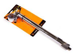 """Вынос руля TRIX, алюминиевый, резьбовой 1"""", руль 25,4мм, H- 300 мм, L - 40 мм, серебристый, JB-8633"""