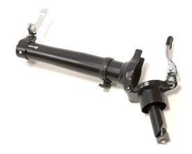 """Вынос складной для рулевой колонки 1"""", 22.2 мм, сталь, черный"""