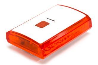X-light, Задний фонарь XC-142, белый корпус, USB шнур, аккум. 3,7V, 300mAh