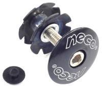 """NECO, Якорь 1-1/8""""  алюминиевая крышка, стальной болт, черный C2861 BK"""