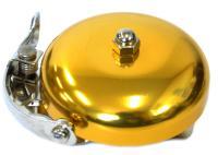 Vinca Sport, Vintage. Звонок велосипедный, золотой металлик, диаметр 53мм YL 03 gold