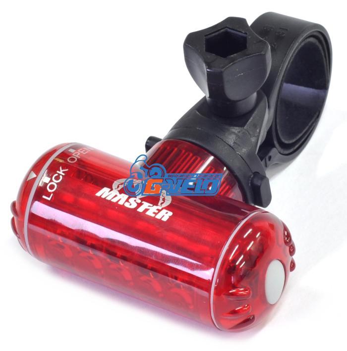 MASTER, Задний фонарь RHL-10 красная линза, диоды, 2 режима работы