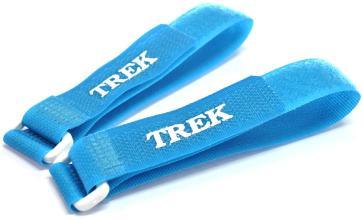 Зажим-липучка для лыж TREK бирюзовый