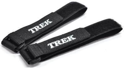 Зажим-липучка для лыж TREK черный