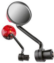Зеркало с габаритным фонарем, JY-5, крепление в руль