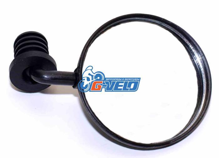 Vinca Sport, Зеркало параболическое с торцевым креплением, диаметр зеркала 80мм VM 01