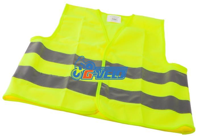 Светоотражающий защитный жилет для взрослых Vinca Sport, желтый, SV 321