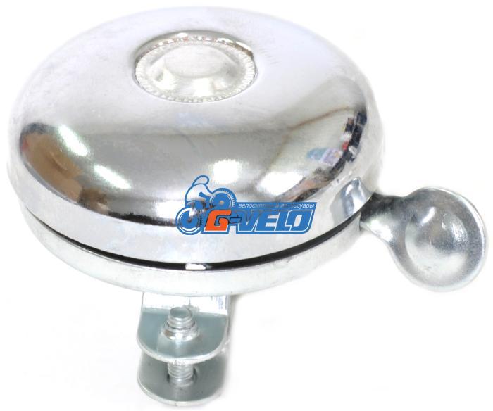 Звонок механический д 22,2мм, хром